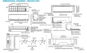 Daikin Mini Split Wiring Diagram - Amazon Daikin 18 000 Btu 220v 18 Seer Mini Split Inverter Air Conditioner Home & Kitchen 15t