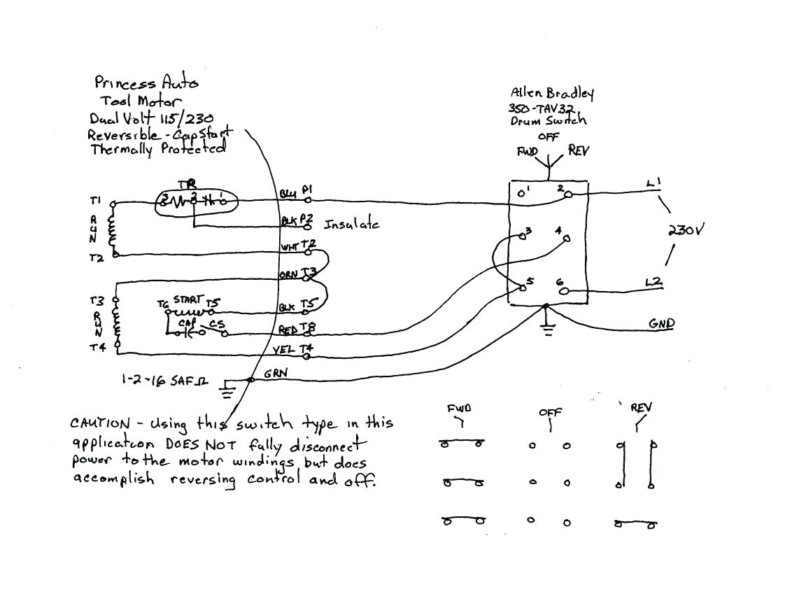 Dayton 6a855 Wiring Diagram Gallery
