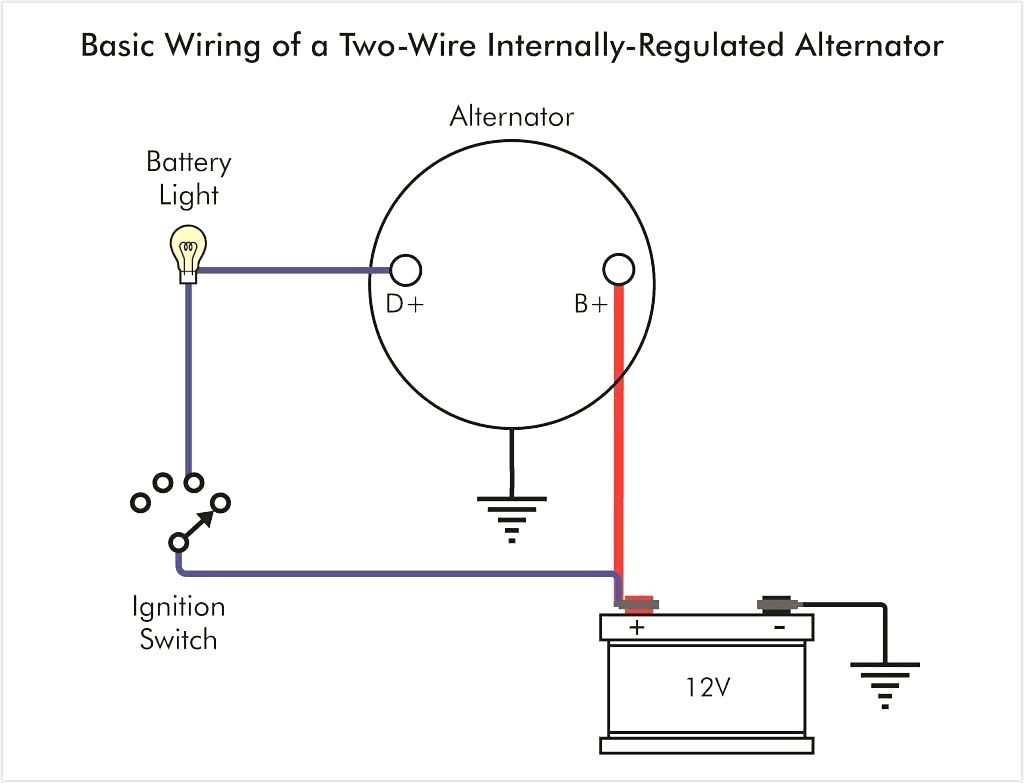 delco alternator wiring diagram Download-Alternator Wiring Stuning e Wire Diagram Carlplant Amazing And Remarkable Delco 10si 10-k