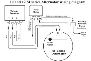 Delco Alternator Wiring Diagram - Delco Alternator Wiring Diagram Ac Entrancing 10si 12t