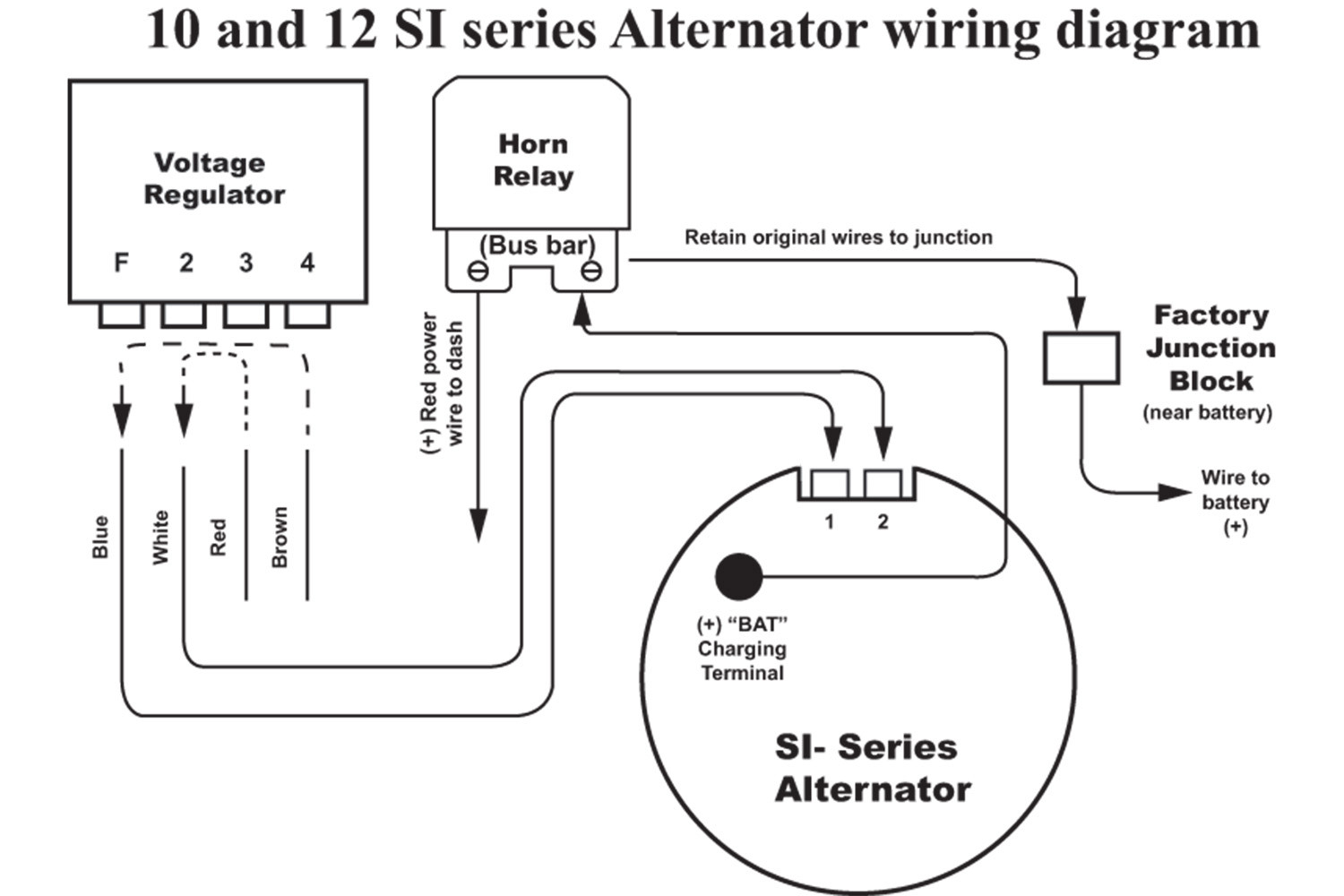 Delco Alternator Wiring Diagram Delco Alternator Wiring Diagram Ac Entrancing Si H on 6 volt ford generator wiring diagram