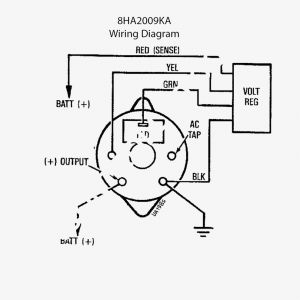 Delco Alternator Wiring Diagram - Elegant Delco Remy 3 Wire Alternator Wiring Diagram ford E Fancy 10si 19e