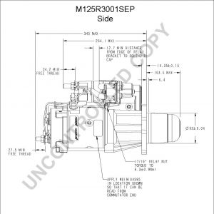 Delco Electric Motor Wiring Diagram - M125r3001sep Side Dim Drawing Output Curve M125r3001sep Output Curve Wiring Diagram 10i