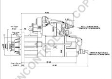 Delco Remy Starter Wiring Diagram - M105r2502se Side Dim Drawing Output Curve M105r2502se Output Curve Wiring Diagram 1d