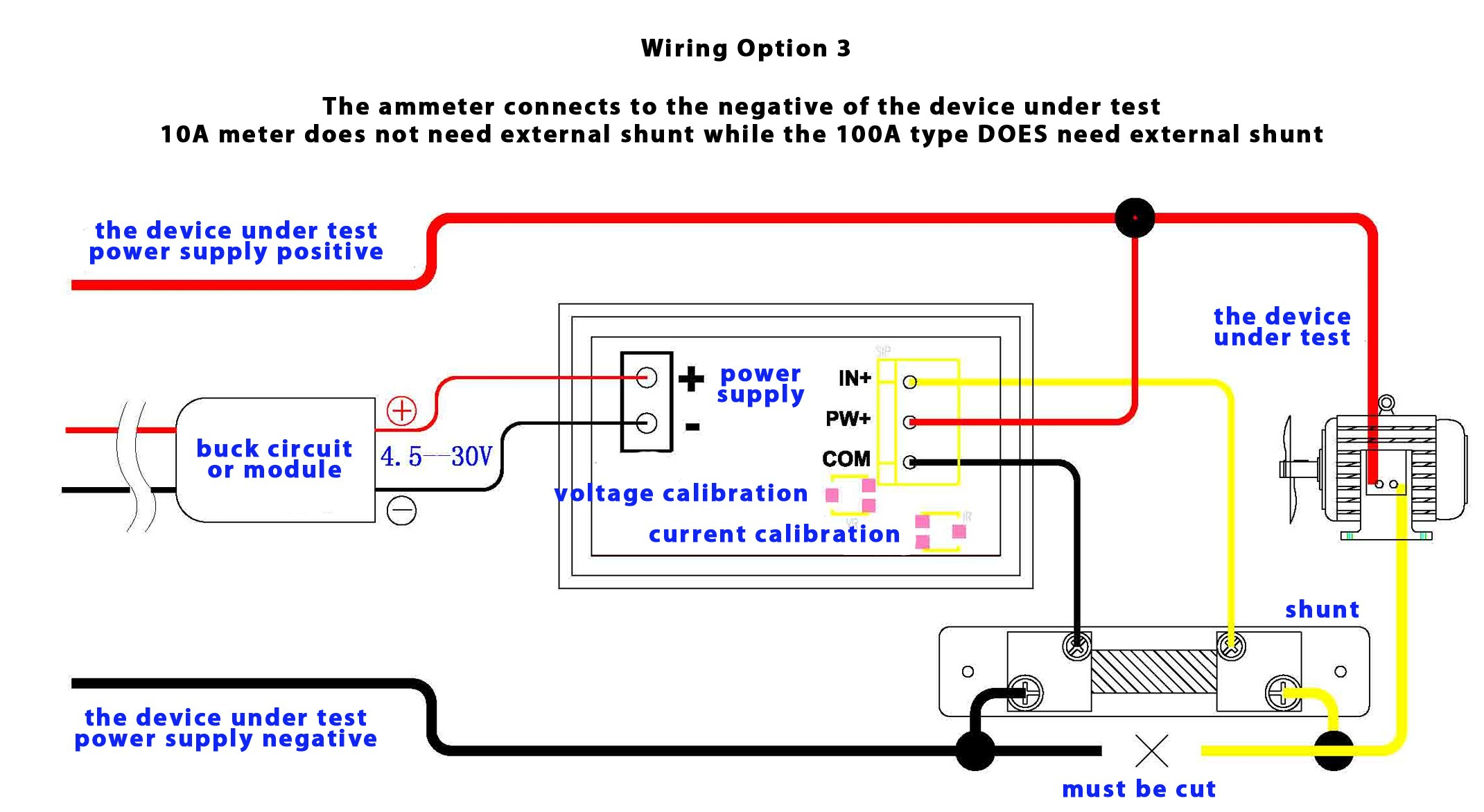 Digital Volt Amp    Meter       Wiring       Diagram    Gallery