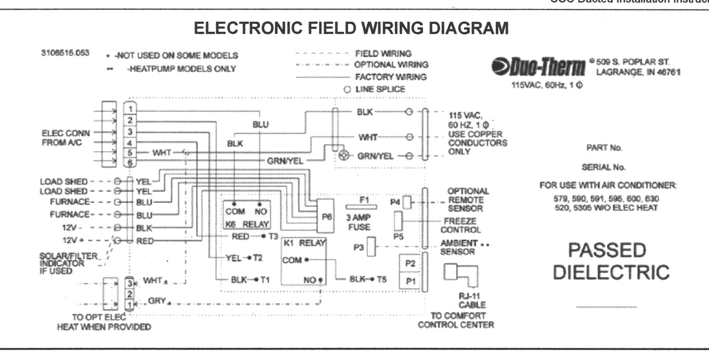 30 Dometic Thermostat Wiring Diagram