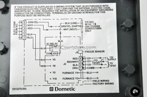 Dometic thermostat Wiring Diagram - Dometic Rv thermostat Wiring Diagram Download Samples Duo therm thermostat Wiring Diagram In Dometic Rv 5f