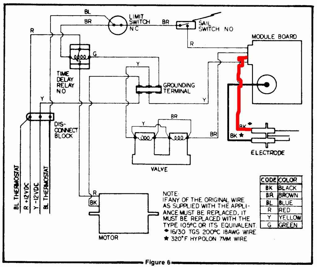 dometic thermostat wiring diagram Collection-dometic thermostat wiring diagram Download Rv Furnace Wiring Diagram 12 a 6-o