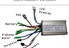 E Bike Controller Wiring Diagram - Wiring Diagram Electric Bike Controller Valid Electric Bicycle Ebike Rh Wheathill Co E Bike Controller Diagram Stepper Motor Wiring Diagram 2a