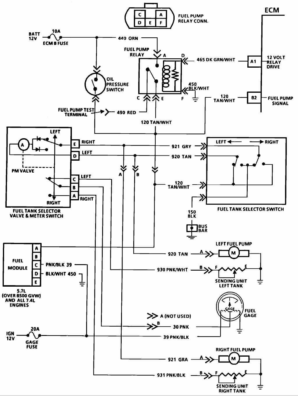 Diagram Electric Fuel Pump Wiring Diagram Gallery