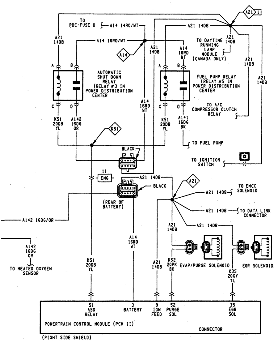 Electric Fuel Pump Wiring Diagram Graphic I on 94 Dodge Dakota Wiring Diagram