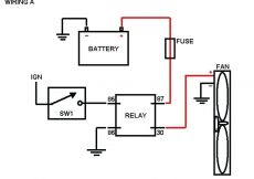 Electric Furnace Fan Relay Wiring Diagram - Fan Relay Wiring Diagram Wiring 12h