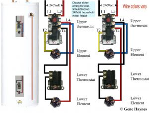 Electric Water Heater Wiring Diagram - Wiring Diagram for Electric Water Heater Save How to Wire A Hot Water Heater Diagram 8q
