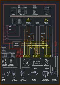 Electrical Control Panel Wiring Diagram Pdf - Electrical Control Panel Wiring Diagram Pdf Luxury Amf Control Panel Circuit Diagram Pdf Be142 Wiring Diagram 11p