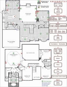 Electrical House Wiring Diagram software - House Wiring Plan Drawing Awesome Electrical Wiring Diagram Symbols Sample 18i
