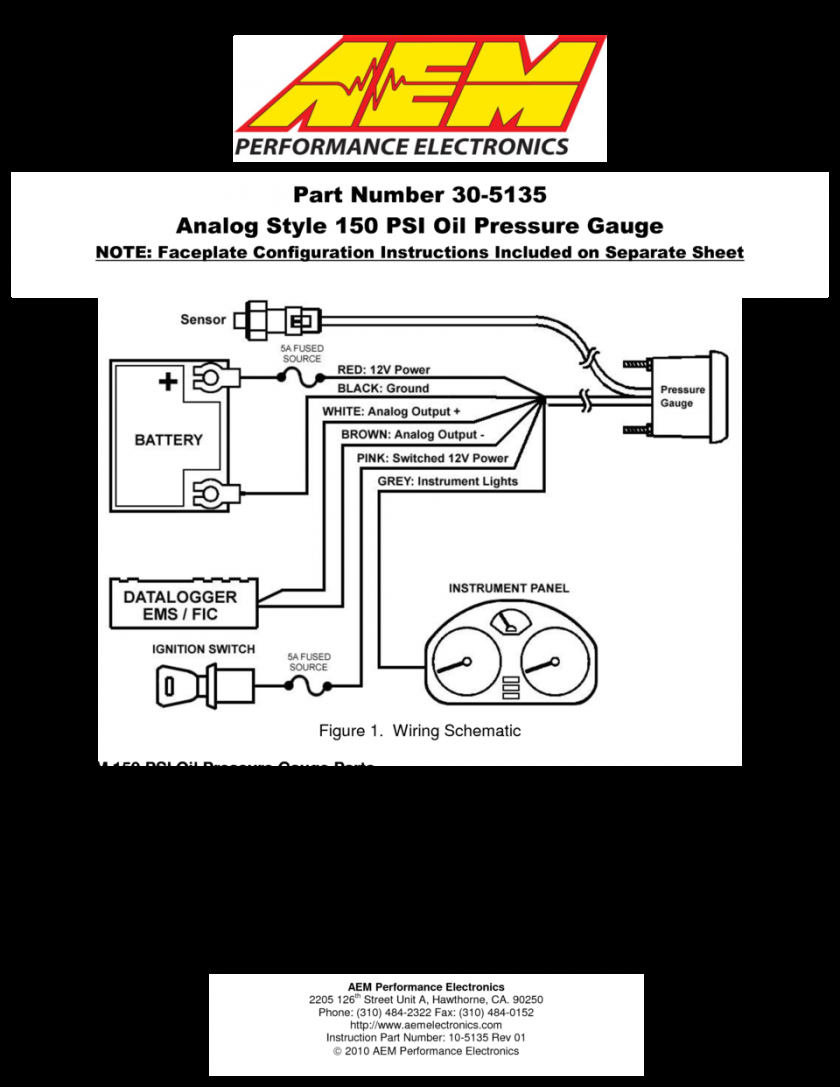 31 Autometer Fuel Gauge Wiring Diagram