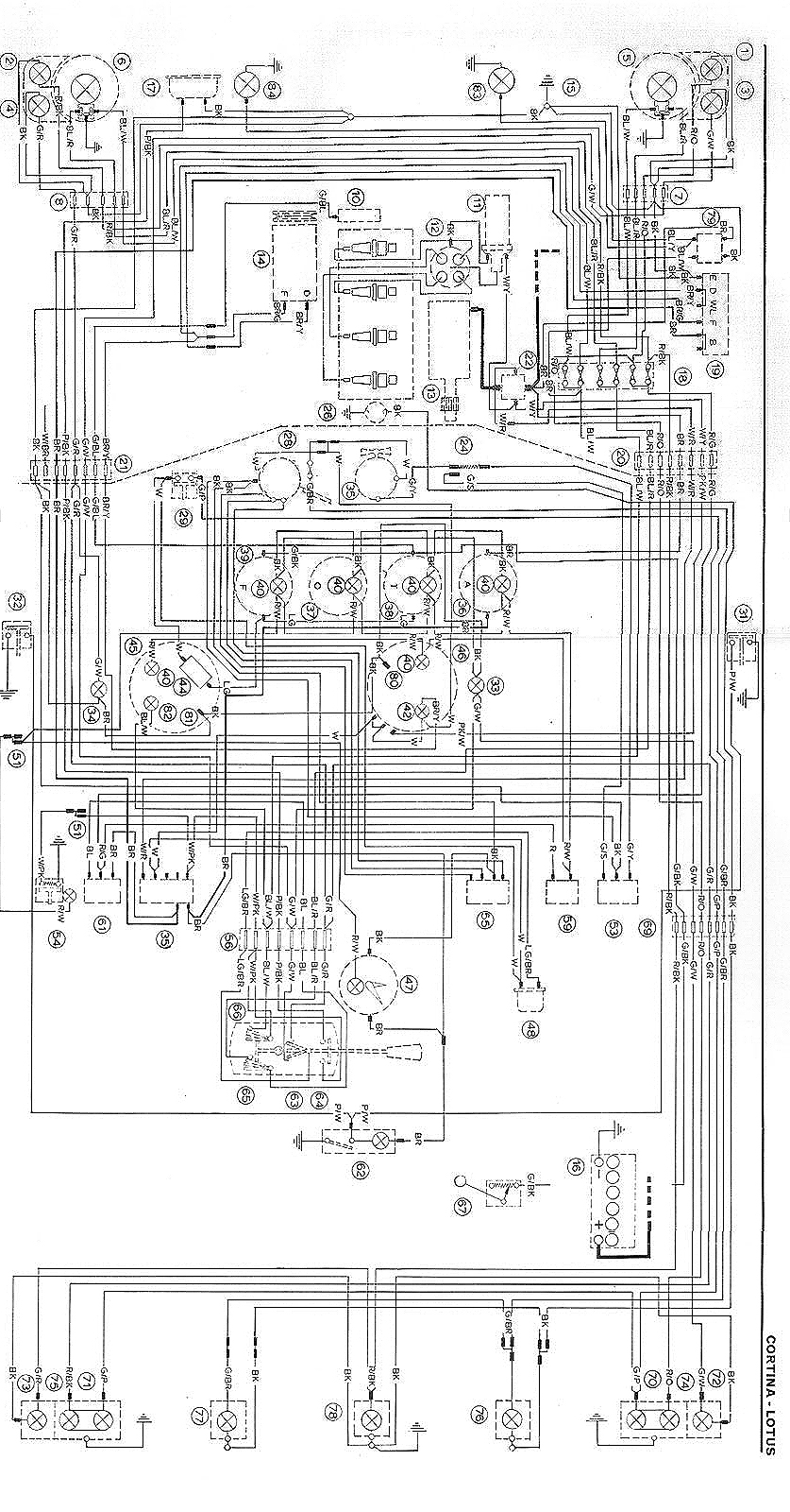Escort Power Cord Wiring Diagram Gallery