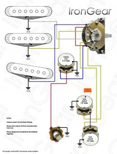 Fender Strat Wiring Diagram 5 Way Switch - Wiring Diagram for Fender Stratocaster 5 Way Switch New Wiring Diagram Fender Strat 5 Way Switch 6s