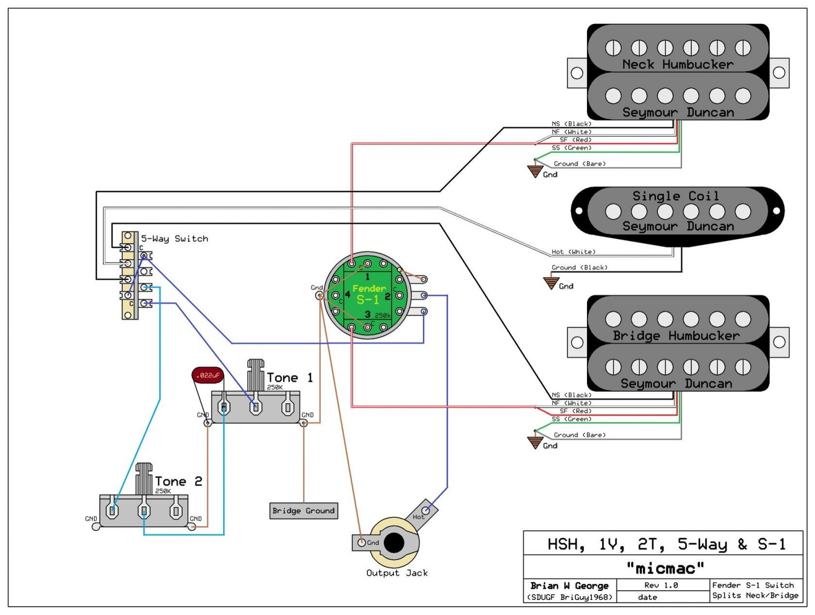Fender Strat Wiring Diagram 5 Way Switch Download
