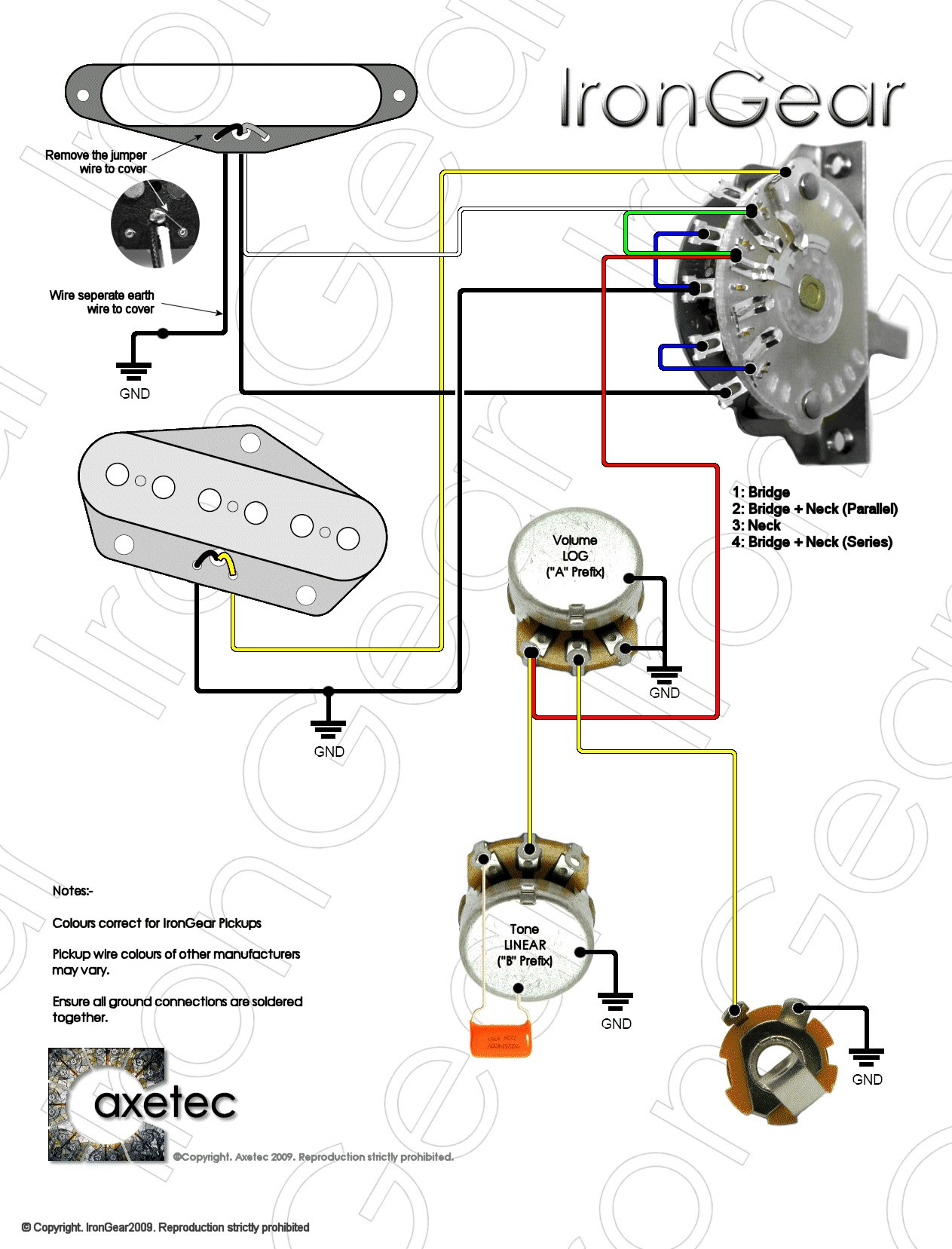 Telecaster Wiring Diagram 3 Way Import Switch from wholefoodsonabudget.com