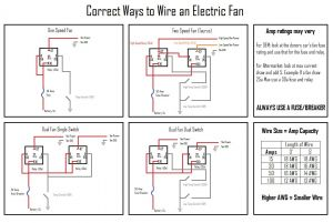 Flex A Lite Electric Fan Wiring Diagram - Flex A Lite Electric Fan Wiring Diagram Mihella Me In for 12a