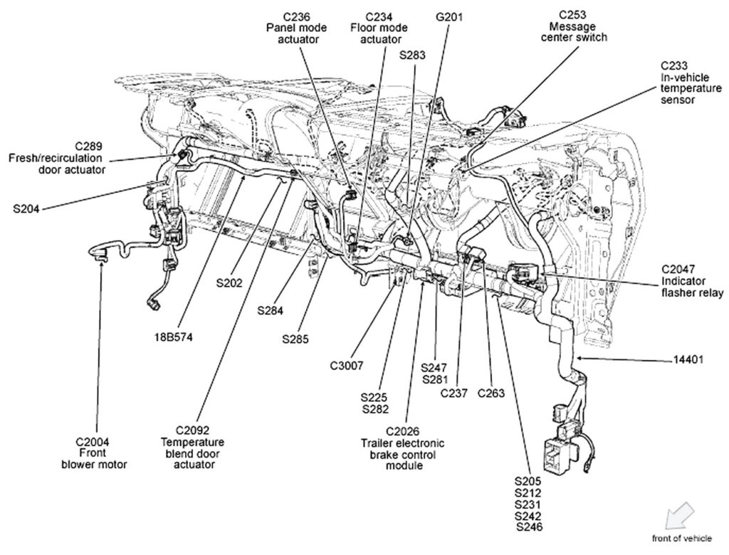 ford f150 engine wiring harness diagram Collection-Ford F 150 Wiring Harness Diagram Throughout 19-n