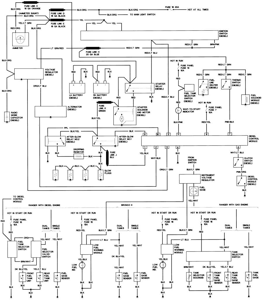 1984 f150 wiring: fuel transfer pump wiring diagram collection
