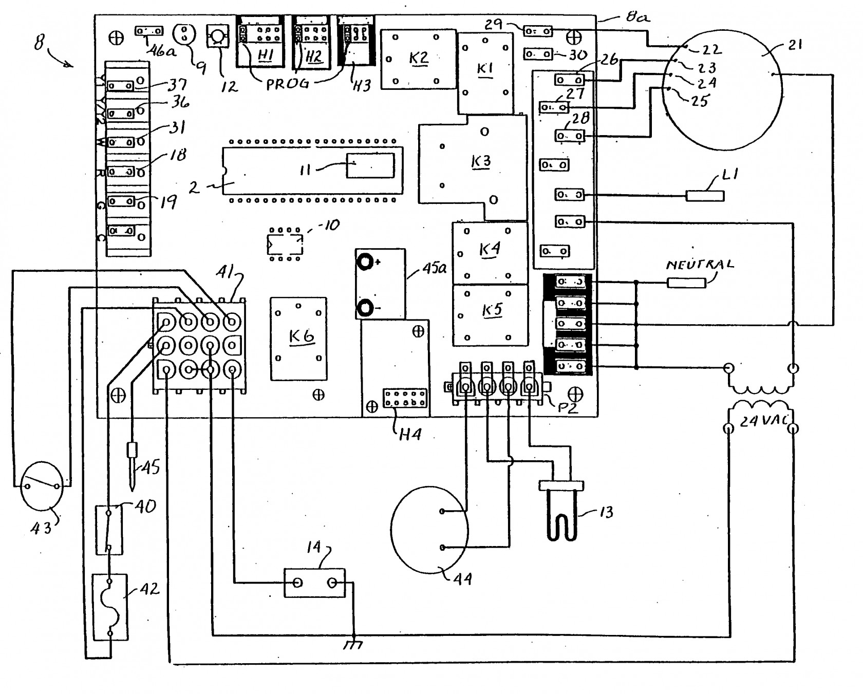 furnace control board wiring diagram Collection-Wiring Diagram for Goodman Gas Furnace New Goodman Furnace Control Board Wiring Diagram Best Hvacl Wiring 6-i