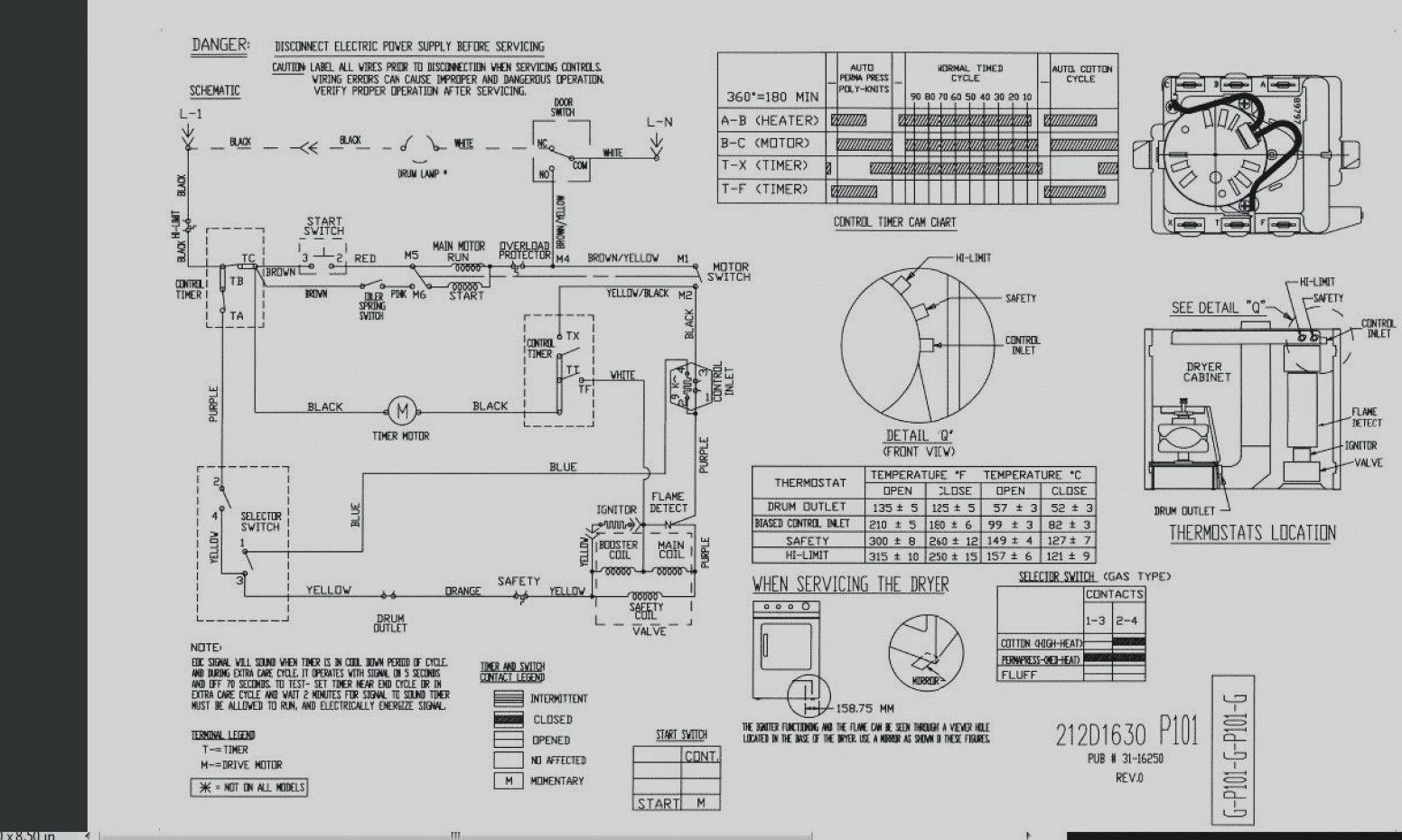 ge dryer timer wiring diagram sample. Black Bedroom Furniture Sets. Home Design Ideas