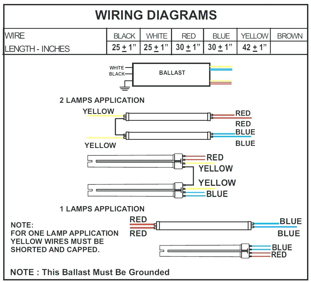 Wiring Diagram For T8 Electronic Ballast from wholefoodsonabudget.com