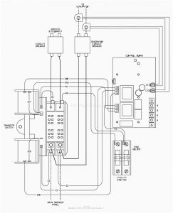 Generac 200 Amp Transfer Switch Wiring Diagram - Automatic Transfer Switch Controller Between Mains and Generator Striking Generac Wiring 10s