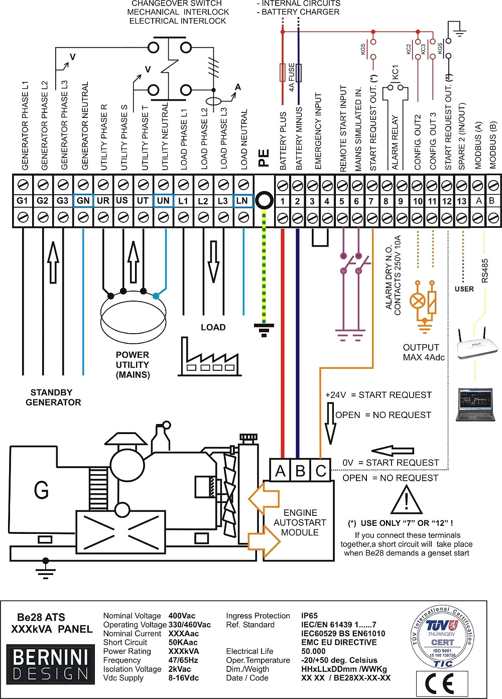 10a 250v 4 Pole Switch Wiring Explained Diagrams Four Solenoid Diagram For 2 Way Connecting Portable Generator To