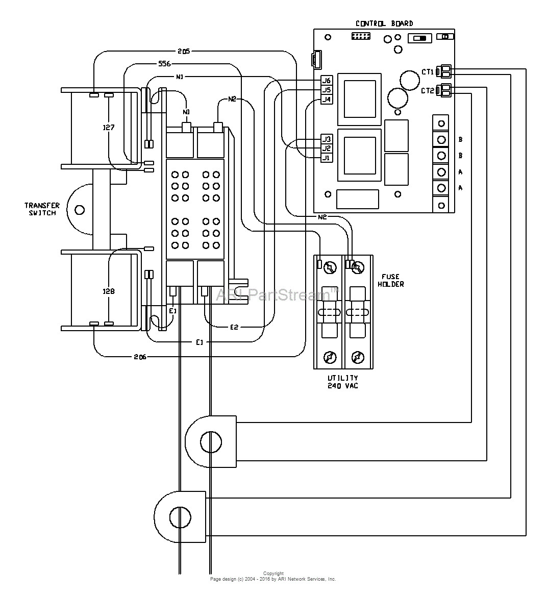 Generac Manual Transfer Switch Wiring Diagram Download on