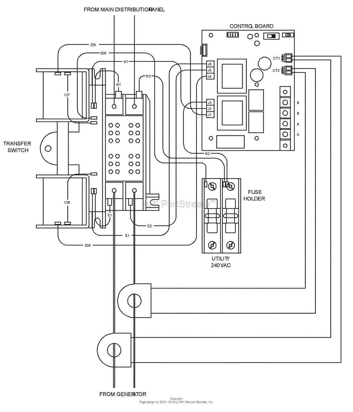 generac rts transfer switch wiring diagram Download-Generac Generator Wiring Diagram 100a Automatic Transfer Switch 6-j
