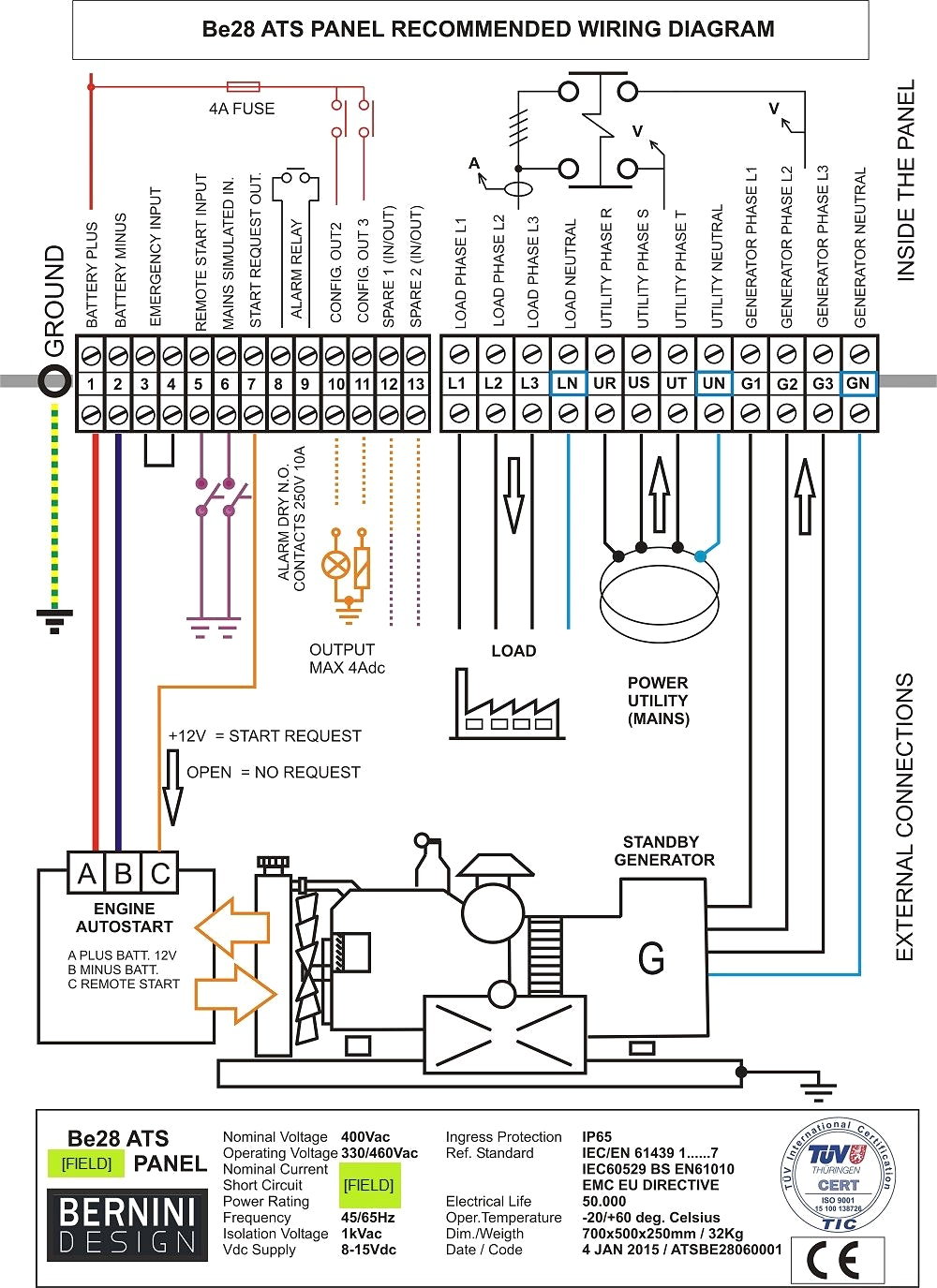 generator changeover switch wiring diagram Collection-Generator Changeover Switch Wiring Diagram Unique How to Wire An isolator Switch Wiring Diagram 10-r