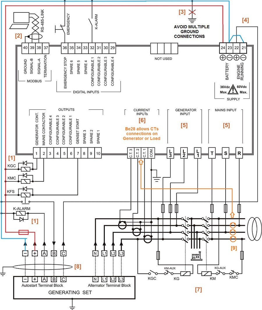 generator transfer switch wiring diagram Download-Auto Transfer Switch Wiring Diagram 8-l