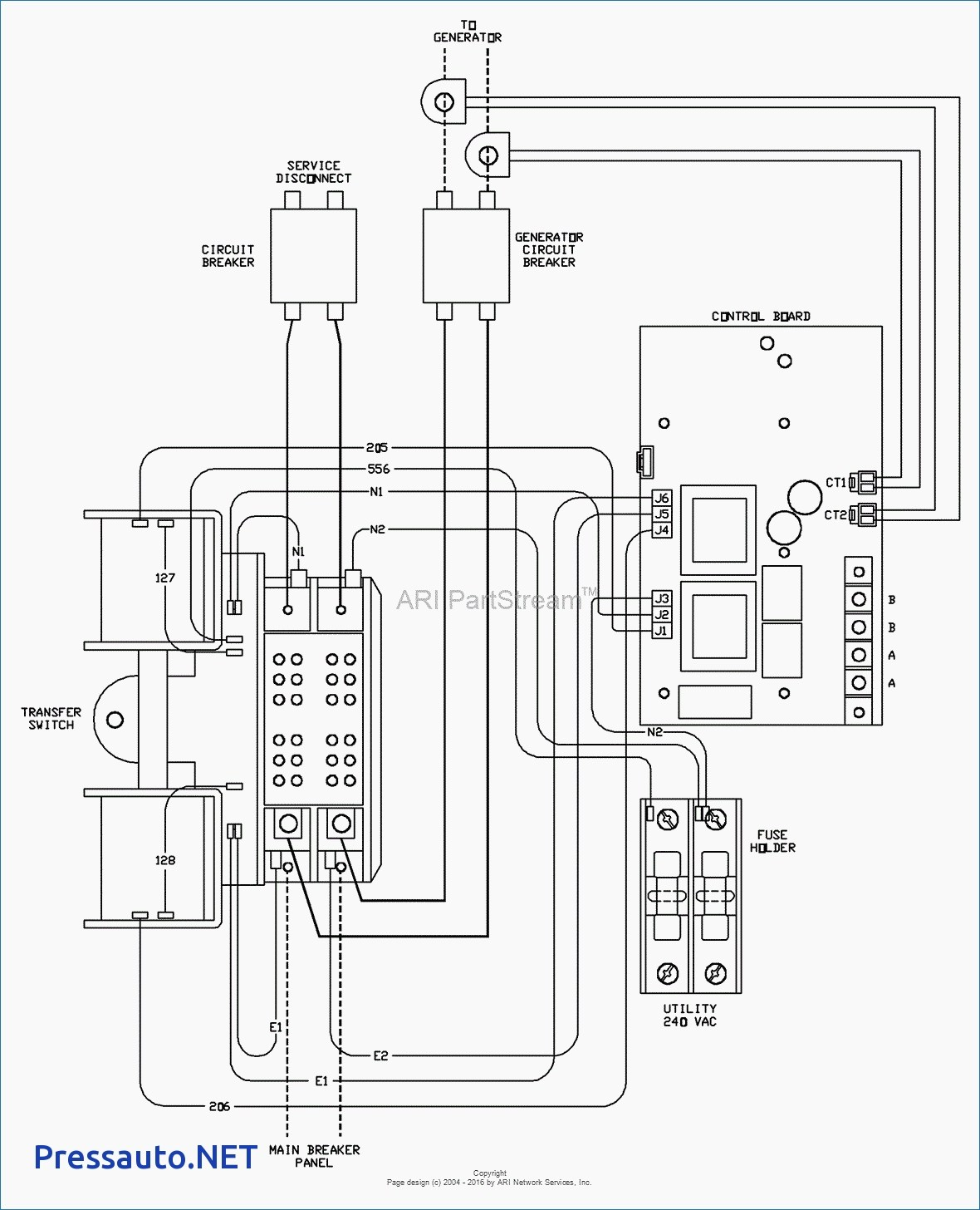 Diagram Generator Transfer Switch Wiring Diagram Download
