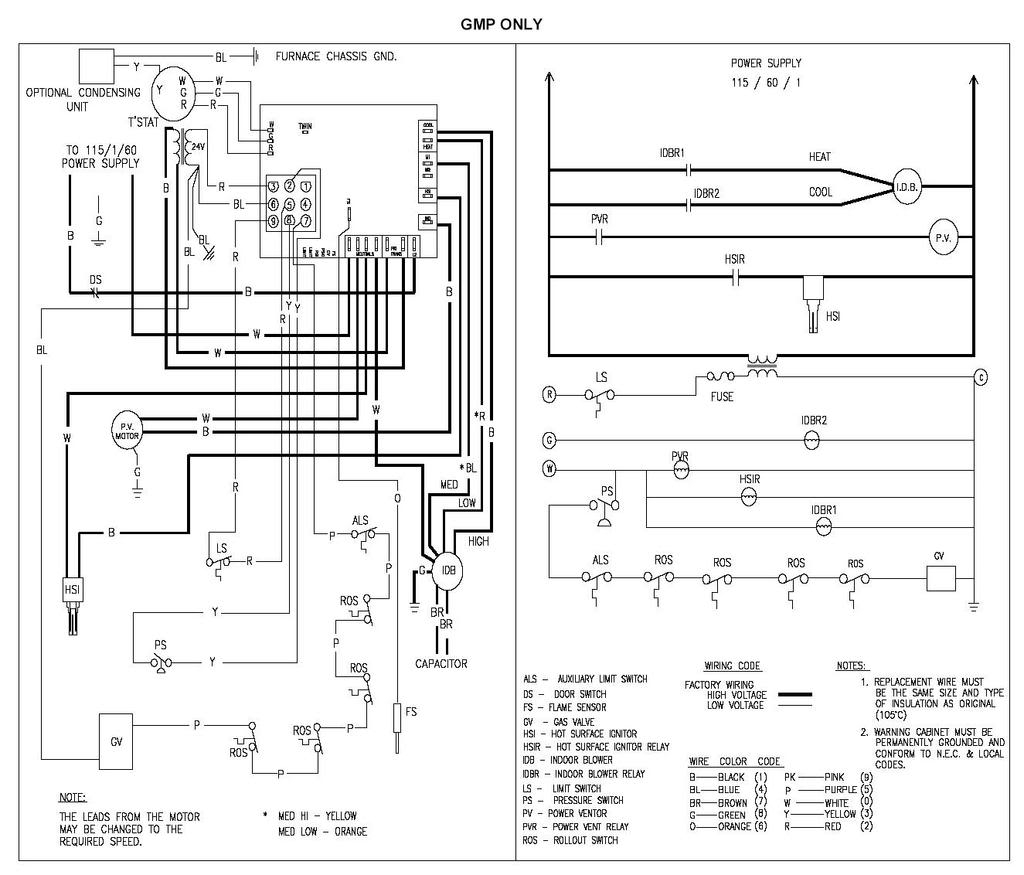 gmp075 3 wiring diagram Collection-Great Goodman Gmp075 3 Wiring Diagram Inspiration New Furnace Goodman Furnace Wiring Diagram 11-e