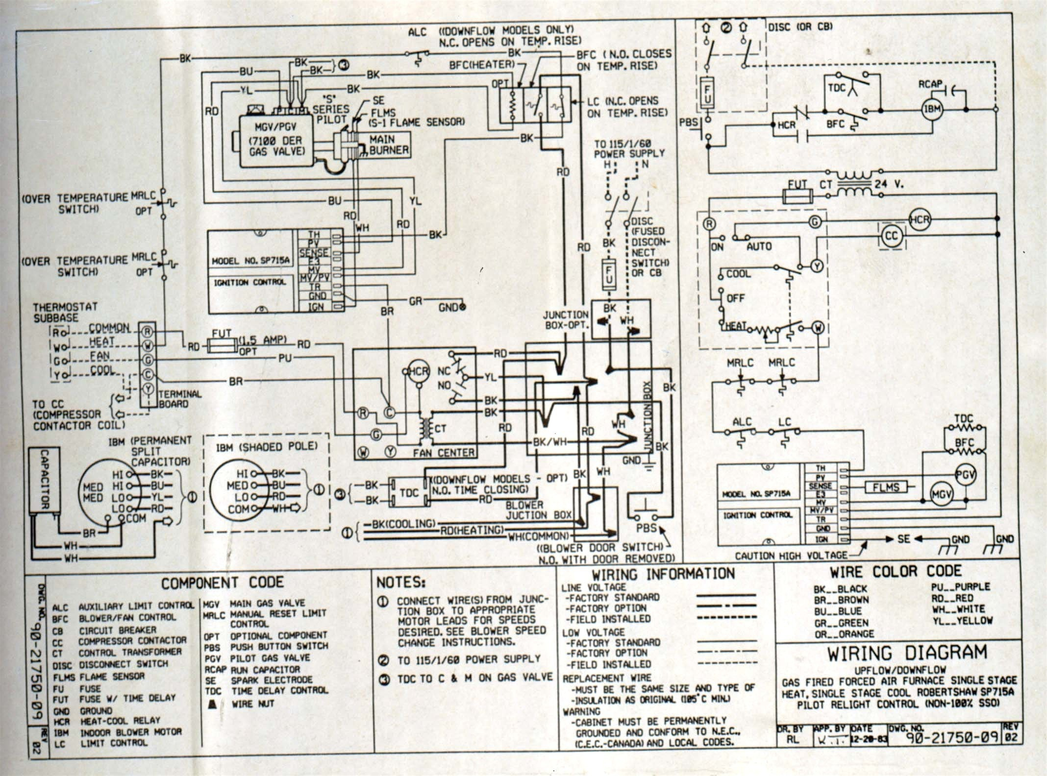 goodman air handler wiring diagram Collection-Wiring Diagram Hvac thermostat New Goodman Gas Pack Wiring Diagram Data Exceptional Air Handler 9-k