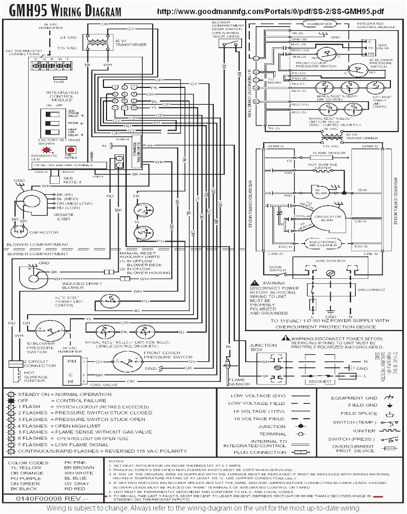 goodman furnace wiring diagram Collection-goodman furnace wiring diagram webtor me in at goodman furnace wiring diagram 15-n