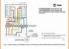 Goodman Heat Pump thermostat Wiring Diagram - Heat Pump Wiring Diagram Download Heat Pump Wiring Diagrams Goodman Wire Colors thermostat Diagram 7 14k