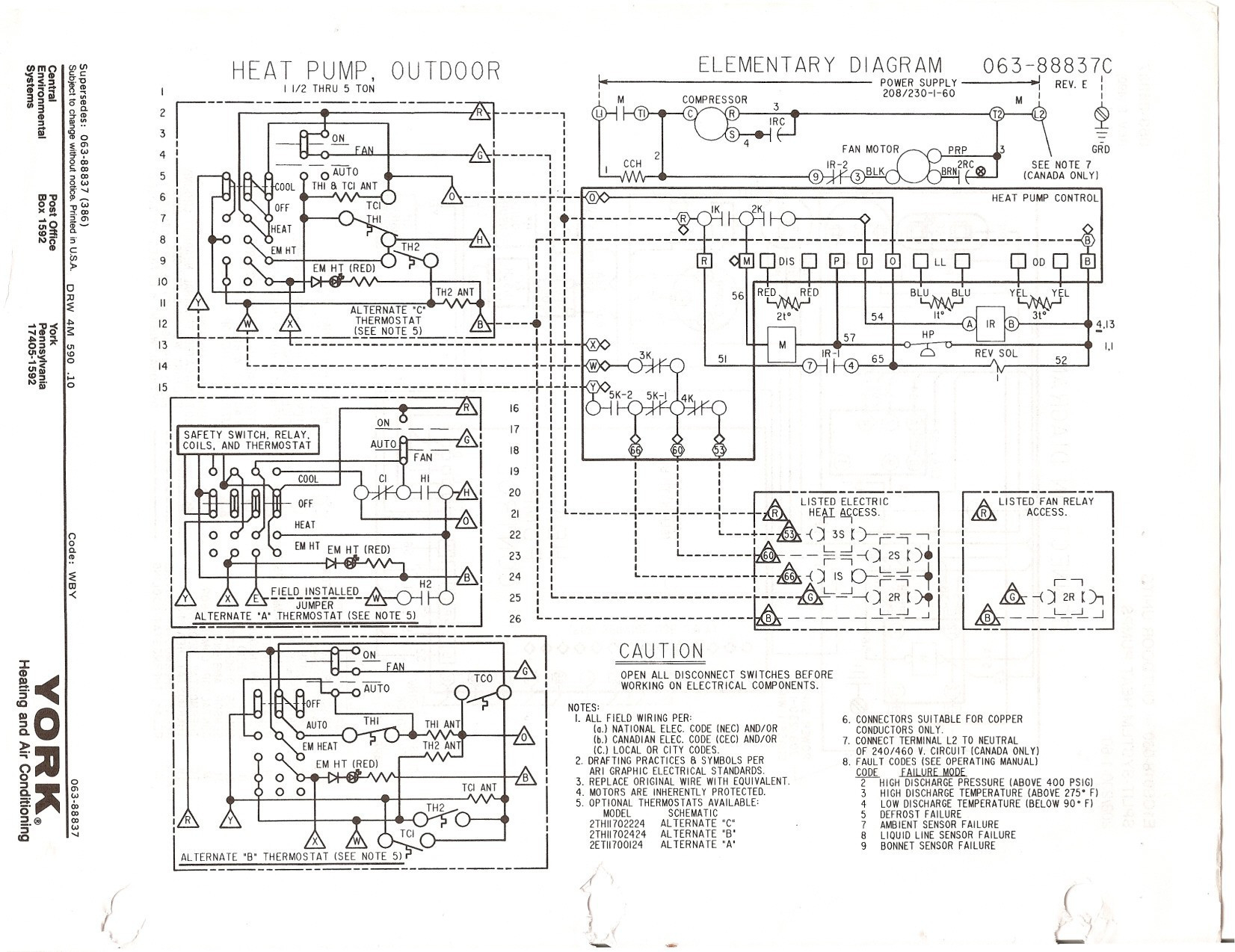 Diagram Goodman Heat Pump Package Unit Wiring Diagram Full Version Hd Quality Wiring Diagram Wiringitwell Ocstorino It