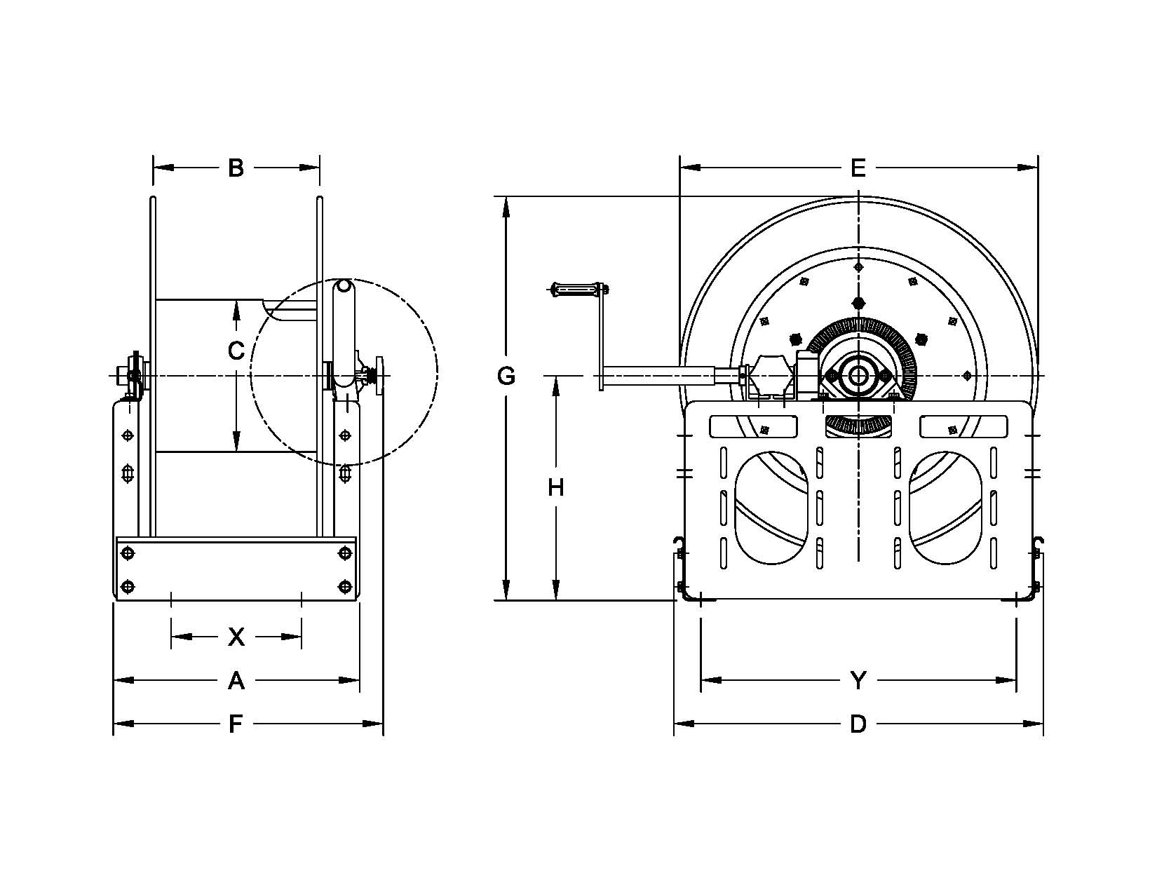 hannay reels wiring diagram Collection-Reel Capacity 17-t