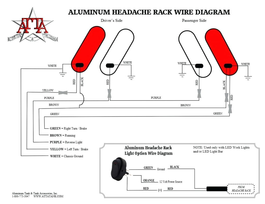 headache rack wiring diagram Download-free wiring diagram Trailer Tail Light Wiring Diagram Small 5 Pin Plug New Din 8-d