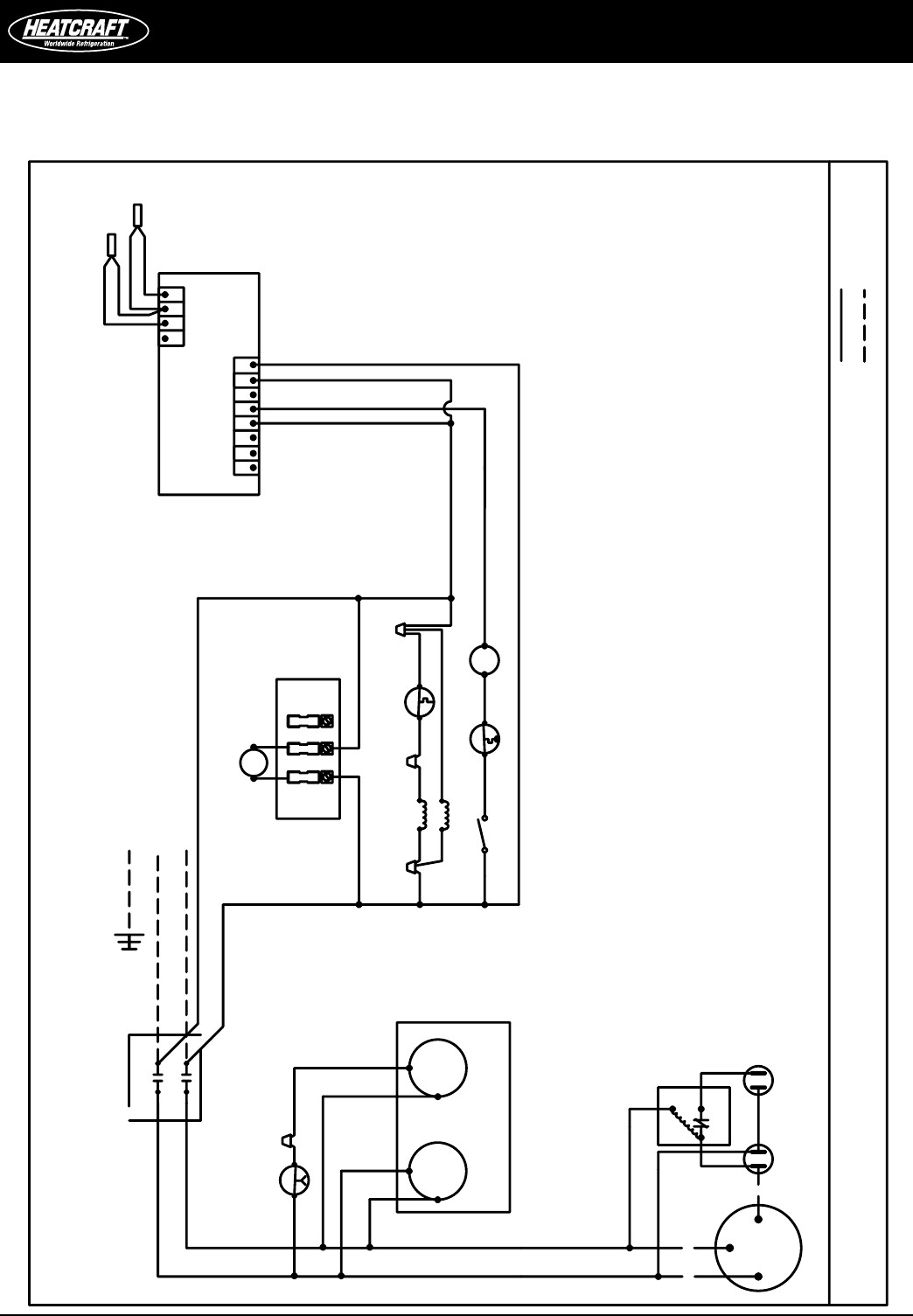heatcraft walk in freezer wiring diagram sample