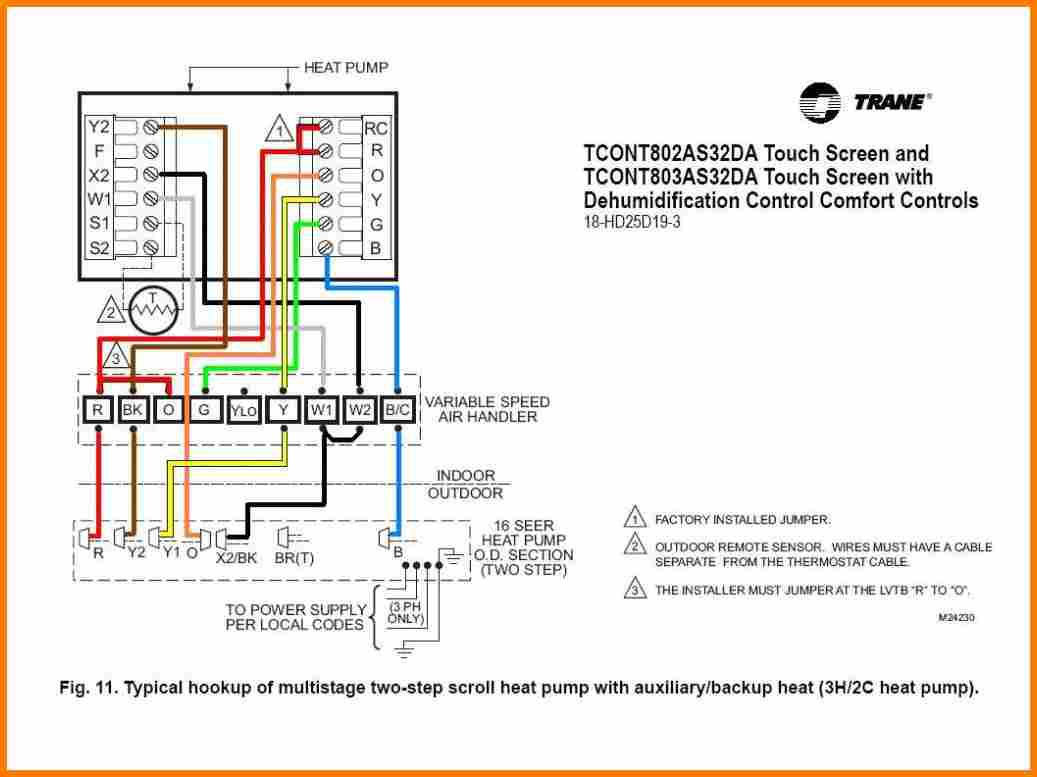 Heat Pump Thermostat Wiring Diagram Manual Guide