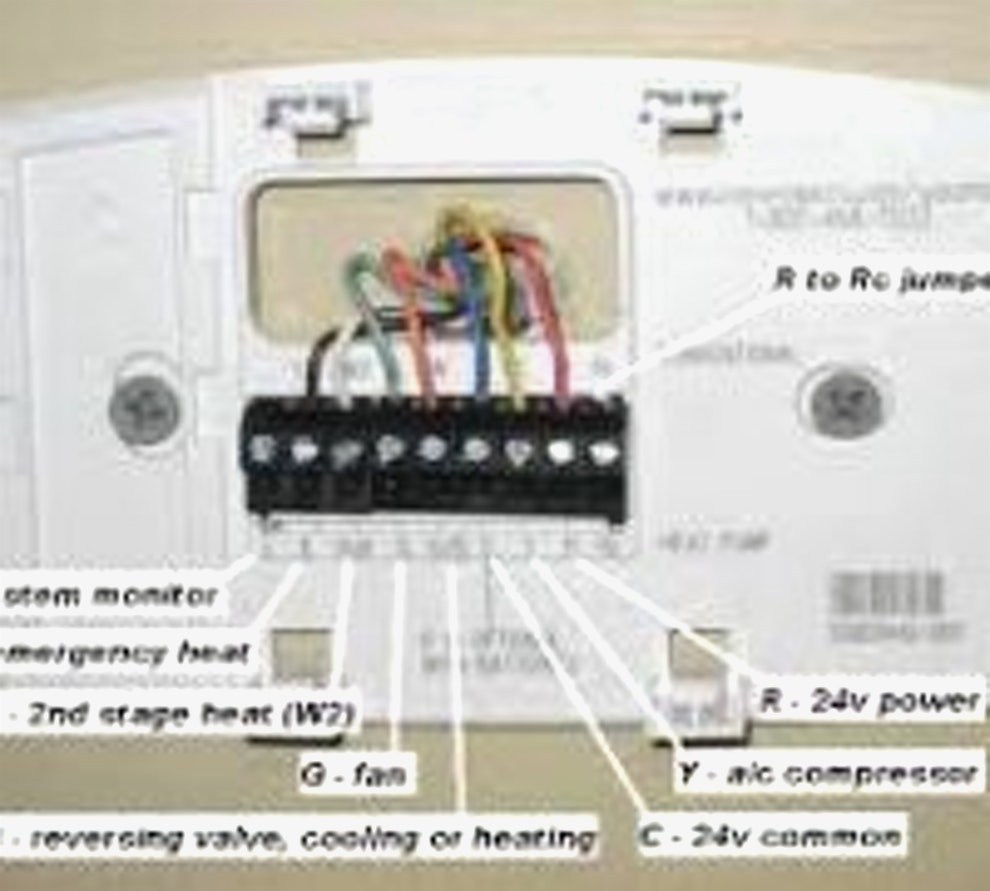 honeywell thermostat th3110d1008 wiring diagram download. Black Bedroom Furniture Sets. Home Design Ideas
