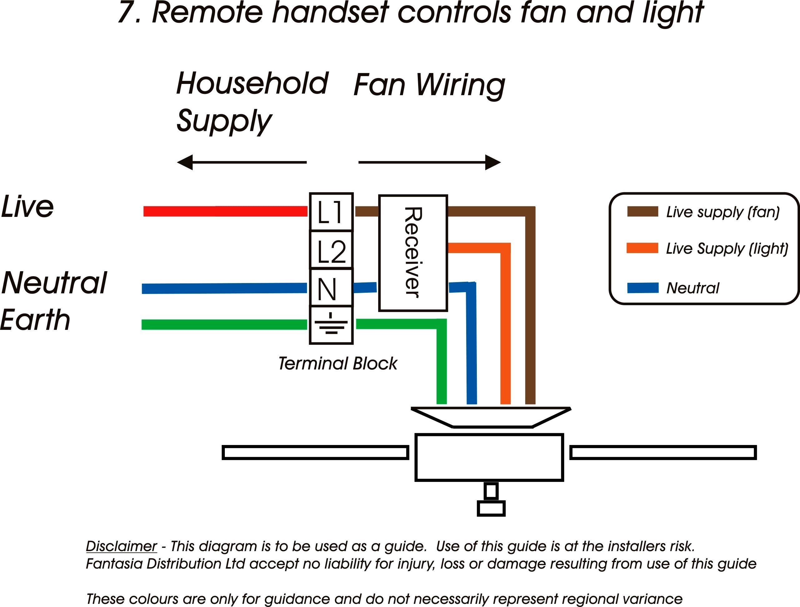 Hunter 3 Speed Fan Control And Light Dimmer Wiring Diagram