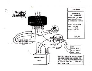 Hunter 3 Speed Fan Control and Light Dimmer Wiring Diagram - Unique Hunter Ceiling Fan Wiring Diagram Wiring Rh Capecodcottagerental Us Hunter 3 Speed Fan Switch 4 Wire Ceiling Fan Wiring Diagram 11j
