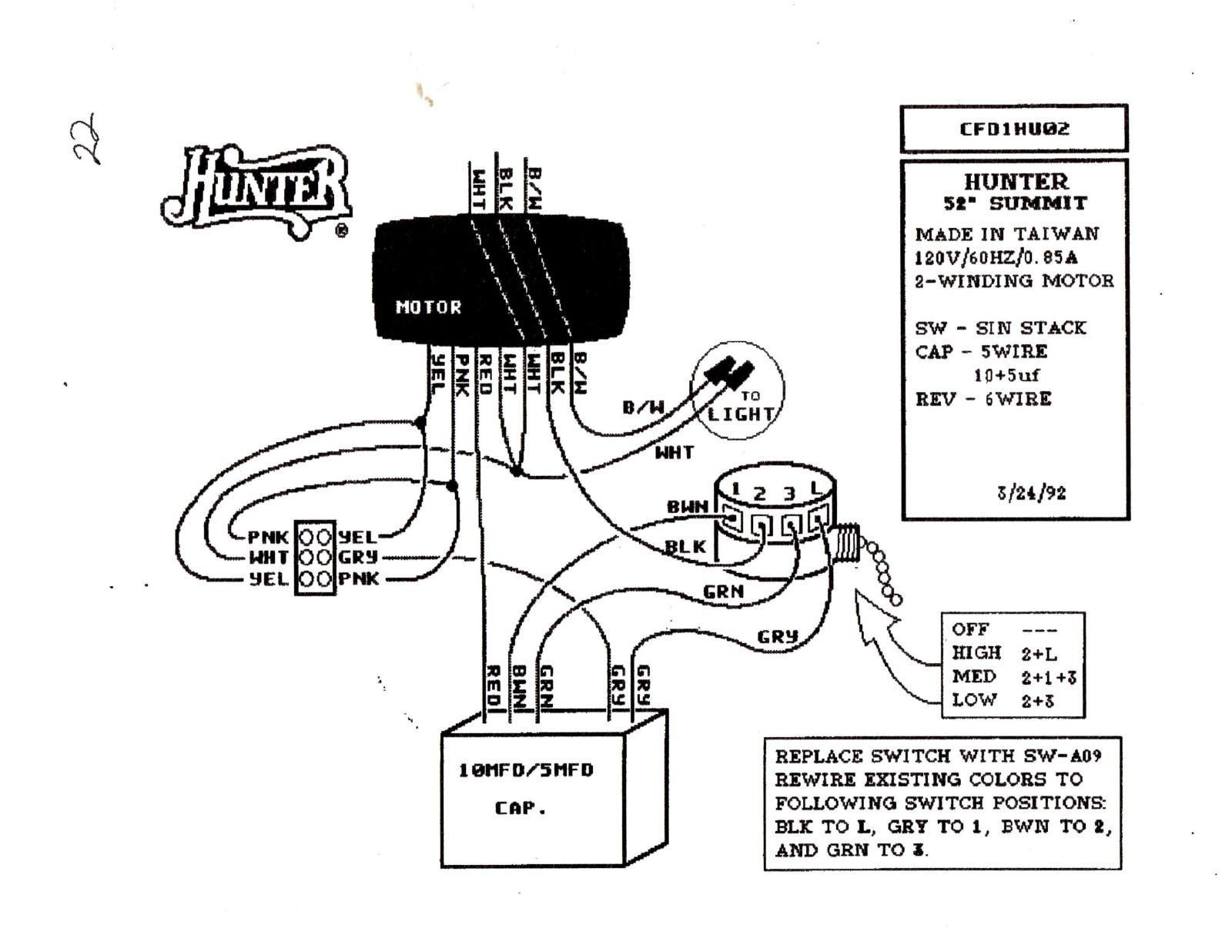 hunter ceiling fan capacitor wiring diagram Collection-Wiring Diagram for Ceiling Fan Speed Switch New Wiring Diagram for Ceiling Fan Switch New Hunter 16-k
